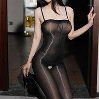 Calzini Hosiery Donne Sexy Lingerie Erotica Sexy Pantyhose Pantyhose Apra Crucco Femminile Collant Big Size Transparent Transparent Calze Medias1