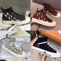 Новые Женские наклонные щаждения бегун кроссовки серый черный замша Walk'n 'кроссовки Низкая верхняя сетка и вязаные верхние кружева повседневные туфли с коробкой
