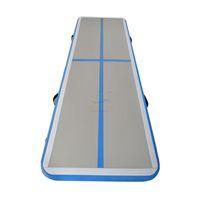 شحن مجاني 3x1m اللون الأزرق تراجع مسار الهواء حصيرة الهواء تعثر مسار الهواء الصالة الرياضية للمبيعات