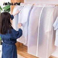 Borsa a polvere dei vestiti tridimensionali può essere lavata ripetutamente abbigliamento opaco trasparente sacchetto di finitura sacchetto antipolvere hanging1