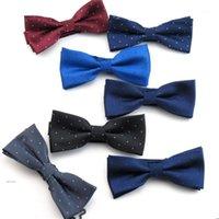 Ponto Skinny Bowtie Homens Marca Clássico Bow Laços Laços de Luxo para Homens Noivo Camisa De Casamento Vestido Acessórios Gravata Cravat1