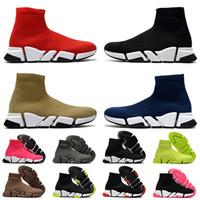 Sıcak Moda 2021 Holllow Bottoms Çorap Eğitmenler Kadınlar Erkek Çorap Ayakkabı luxurys Tasarımcılar Günlük Ayakkabılar Tripler Loafers Spor ayakkabılar Bayan Çizme