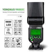 YONGNUO YN968N / C HSS Speedlite con luce LED Flash Speedlite per DSLR compatibile con YN622N / C YN560 wirelessL1