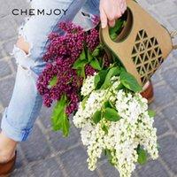 선물 포장 5pcs / 세트 크래프트 종이 꽃 포장 가방 꽃다발 플로리스트 포장 장미 배열 상자 소박한 결혼식 DIY 장식