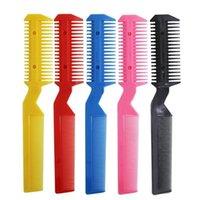 Hot Zufalls 5 PC / pack Haar Razor Comb Schneiden Ausdünnung Shaper Haircut Kosmetik für Männer Frauen Kinder Hit Thin Frisierkamm