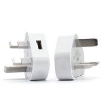 Universale Regno Unito 3 Pin Adattatore per caricabatterie Plug 5V 1A UK USB Adattatore da parete USB per Samsung Galaxy S6 S8 S10 Tablet PC