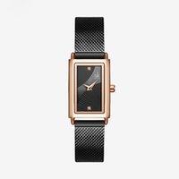 Shengke Frauen Uhren Genef Designer Damenuhr Hidden Clasp Edelstahlband Analog Zifferblatt Gesicht Armbanduhr 001 Geschenke für Frauen