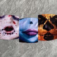 96aha ShippingNew di arrivo lattice Creare Hallowen divertente completa Ognissanti capo Maschera Designhalloween Maschera Joke Clown Mask Cosplay Props