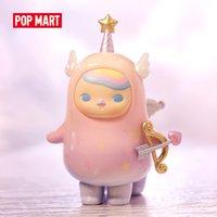 Pop Mart Pucky Horoskop Babys Sammlung Puppe Sammeln Nette Aktion Kawaii Tier Spielzeugfiguren Freies Verschiffen LJ200924