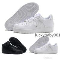 2021 الفلين للرجال جودة عالية عارضة الأحذية منخفضة قطع عالية قطع جميع أبيض أسود اللون مصمم أحذية رياضية المدربين 5.5-12