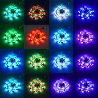 Пластиковый 300-LED SMD3528 24W RGB Лампы IR44 Светильник Света с ИК-пультом дистанционного управления (белая пластина) Украшения дома