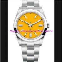 Luxusmänner Uhren 2813 Multicolor-Zifferblatt Neuheit Neue Perpetual 41mm 124300 Mechanische Automatische Silber-Edelstahl-Armband