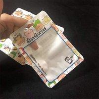 15 * 10.5 سنتيمتر البلاستيك opp أكياس الرسوم كاريكاتير شعار البريدي قفل الحزم الحقيبة لحالة الهاتف المحمول سماعة USB كابل شاحن الملحقات التعبئة التجزئة