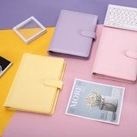 A6 Notebook Binder Loose Leaf Notebooks Refillable 6 Ringbindemedel för A6 Fillerpapper Binderlock med magnetisk spänneförslutning 18 L2
