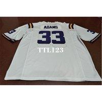 121 # 33 Jamal Adams LSU Tigers Alumni College Jersey o personalizado cualquier nombre o número Jersey
