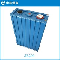 4 stücke CALB SE200 3.2V 200Ah LIFEPO4 Batteriezellen Lithiumbatterie für Solarenergiesystem