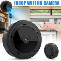 Mini Kameralar Wifi Kablosuz Webcam Yüksek Çözünürlüklü Akıllı Kamera Ev Açık Yard W10 VH991 için