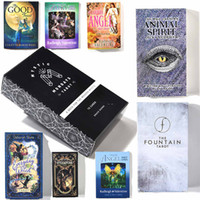 A moderna bruxa Tarot Deck Guidebook Cartão de Cartão Jogo Mágico Fate Divinate Cartão DHL Frete Grátis,