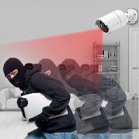 8CH 무선 CCTV 시스템 1080P 1TB 1PCS 2MP NVR WIFI IR 컷 옥외 CCTV 카메라 IP 보안 시스템 비디오 감시 키트 1