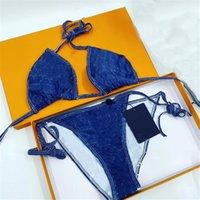 Full Flower Badeanzug Classic Brief Swimwear Sexy Bikini Set Frauen Strand Bademode Mode Badeanzug Zweiteiliger Backless Badeanzug