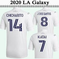20 21 J. Dos Santos Chicharito رجل كرة القدم الفانيلة New La Galaxy Home White 2019 Bule Football Shirt Hernandez Chort Origss Jersey