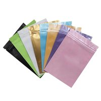 Sacchetti di stoccaggio alimentari richiudibili Imballaggio a prova di odore Plastica Sacchetto di glassa in plastica Valuta Colore Pouch Self Styled 0 24YW F2