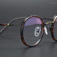 TR90 Transparente Óculos Redondos Homens Mulheres Vintage Óptica Óptica Óculos Quadro Prescrição Spectacle Frames Homem Clear Eyewear oculos1