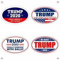 دونالد ترامب ملصقا ثلاجة ملصقا 2020 ملصقات الحائط الانتخابية الرئاسية الحفاظ على ملصقات أمريكا صائق كبيرة للسيارة VT0515