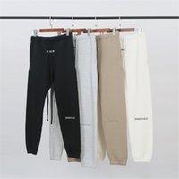 안개 에센셜 컬렉션 3M 반사 인쇄 여성 남성 Jogger 바지 스웨트 팬츠 Hiphop Streetwear 남자 바지 조깅 y201123
