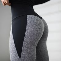 CHRLEISURE Women Fitness Legging High Waist Push Up Women Leggings Femme Patchwork Polyester Leggins Feminina 201203