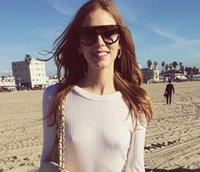 1 pz Occhiali da sole telaio da uomo da uomo da estate, moda donna occhiali da vetri rotondi viso spiaggia occhiali da sole parabrezza Sunglasses UV400 Spedizione gratuita