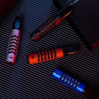 게으른 5.2mm 7.8mm 담배 홀더 수지 플라스틱 절연 USB 아크 라이터 흡연자없는 그을음 환경 친화적 인 자동차 라이터 VT1990
