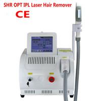 Máquina de depilación láser PERMANENTE SHR OPT IPL Removedor de IPL Rejuvenecimiento de la piel Pigmento Terapia de acné Terapia Salón Uso