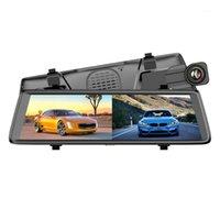 10in 1080p Dash Cam Stream Media Videocamera DVR DVR Recorder Recorder Rearview Mirror JHP-Best1