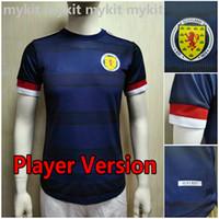 플레이어 버전 스코틀랜드 축구 유니폼 2021 2022 Tierney Robertson McTominay 축구 셔츠 Christie McGregor McGinn 남자 아이들 유니폼 홈 멀리 키트 캠페이타