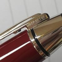 2021 Vin de haute qualité Rouge en métal rouge rollerball stylos stylo stylo stylo de bureau de la mode dame de mode dame d'écriture ballon stylo