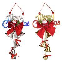 2020 Noël ornement Père Noël cloche 5 styles de bande dessinée accessoires de poupée décoration pendentif sapin de Noël Gros de la Chine