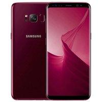 Orijinal Yenilenmiş Samsung Galaxy S8 Artı S8 + G955F G955U 6.2 inç Octa Çekirdek 4 GB RAM 64 GB ROM 12MP 4G LTE Cep Telefonu Ücretsiz DHL 1 adet