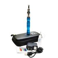 ECIG X6 Kit Kit Starter Kit 1300mAh Ego Batteria 510 Thread X6 BATTERIA VARIABILE VARIAZIONIA BATTERIA 3.6V-3.8V-4.2 V EGO Batteria con custodia con cerniera