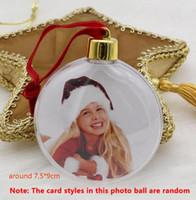 التسامي عيد الميلاد الحلي عيد الحب هدية الكرة المستديرة DIY حزب شجرة عيد الميلاد اللباس الحلي قلادة هدية عيد الميلاد HH9-3399