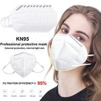KN95 Máscara diseñador de la cara filtro Máscara de respirador Anti-Fog Haze y Influenza dustroof filtrado de 95% reutilizable 5 capa protectora