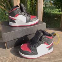 2020 TS 1 S Kaktüs Jack Çocuklar Basketbol Ayakkabıları Travis Scotti Yüksek OG 1 TS Reçel Sneakers Açık Spor Gençlik Genç Çocuk Eğitmenleri 22-37