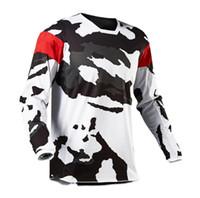 2021 Estilo caliente Traje cuesta abajo Ciclismo Ciclismo Traje de manga larga Camiseta de manga larga Verano Montaña Bicicleta Cross Country Motorcycle Camisa de carreras