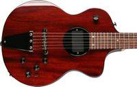 Turner Modello 1-C-LB Lindsey Buckingham Borgogna Vino rosso Semi SEMI Hollow Electric Guitar Body Body Legatura, 5 pezzi Collo in acero laminato