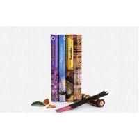 1 scatola Fashiom Handmade Darshan Incenso Stick Incenso / Incenso Bastoncini Fragranza multipla Decor per la casa F Jllbzt Lucky2005
