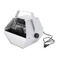Venda quente 30W AC 110V Automatic Mini Ultra Durable Máquina de fabricante de bolhas Auto ventilador para casamento / bar / partido / palco Mostrar prata