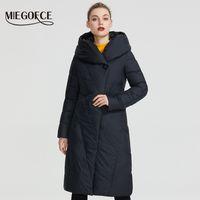 MIEGOFCE зиму Модель Женские пальто куртки Теплый женщин способа ветровки высокого качества Био-вниз Женщины пальто Brand New Design 201014