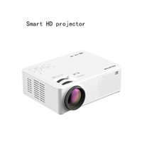 Smart High-Definición Proyector 4K Ultra-Clear Wireless Teléfono móvil Ver películas Muro de fundición TV pequeño
