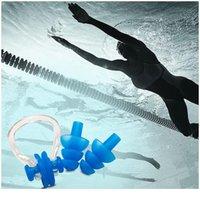 3 قطعة / المجموعة السباحة الأنف مقطع سدادات مجموعة ماء لينة sile تصفح الغوص الاكسسوارات حمام السباحة للبالغين و jllwaq