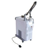 Profesyonel 10600nm dalga boyu 45 / 60W RF CO2 fraksiyonel lazer makinesi, yara kaldırma ve yara izi kaldırma güzellik makinesi sıkın vajinal